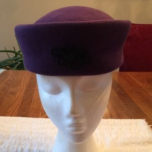 🌹Vintage Arlin Pill Box Hat Made in USA